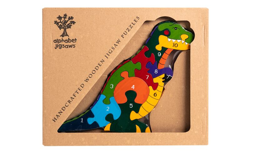 T-Rex Number Jigsaw Package