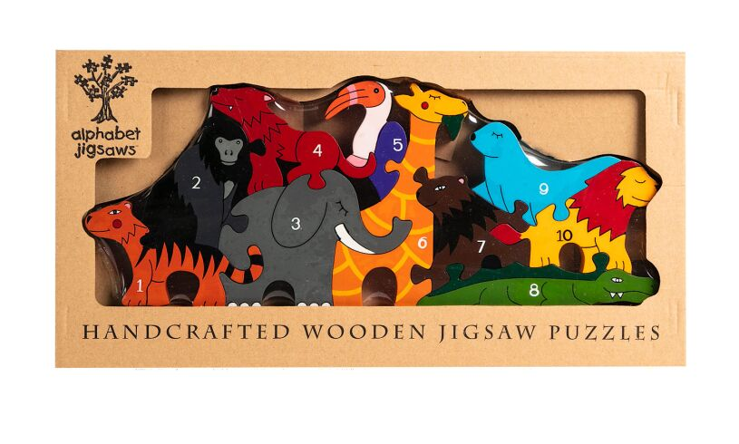 Alphabet Jigsaws Number Zoo Box