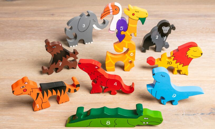 Jigsaws Number Zoo