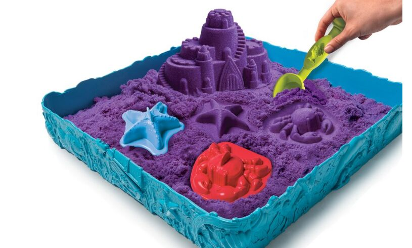 Kinetic Sand Sandcastle Set Spinmaster