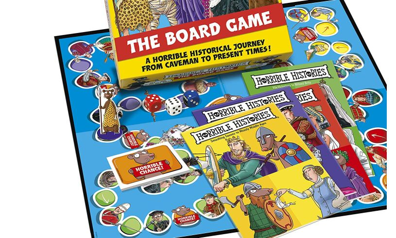 Paul Lamond Horrible Histories Board Game