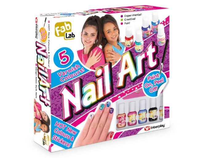 Interplay Fab Lab Nail Art