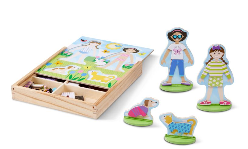 Melissa & Doug Best Friends Magnetic Dress Up
