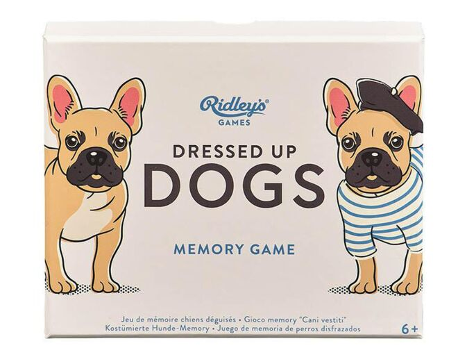 Ridley's Dressed Up Dogs Game