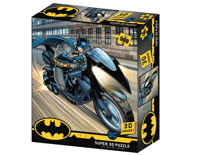 Batcycle - 3D Action Puzzle