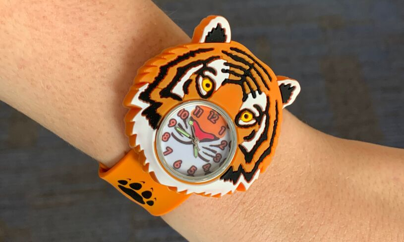 Childs Tiger Wild Watch