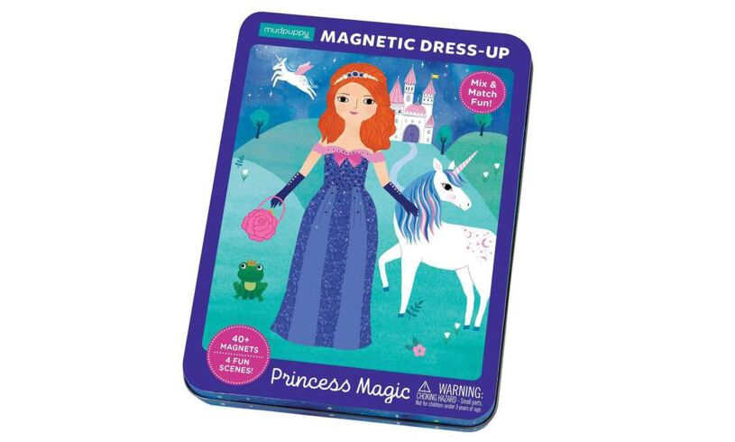 Mudpuppy Magnetic Dress Up Princess