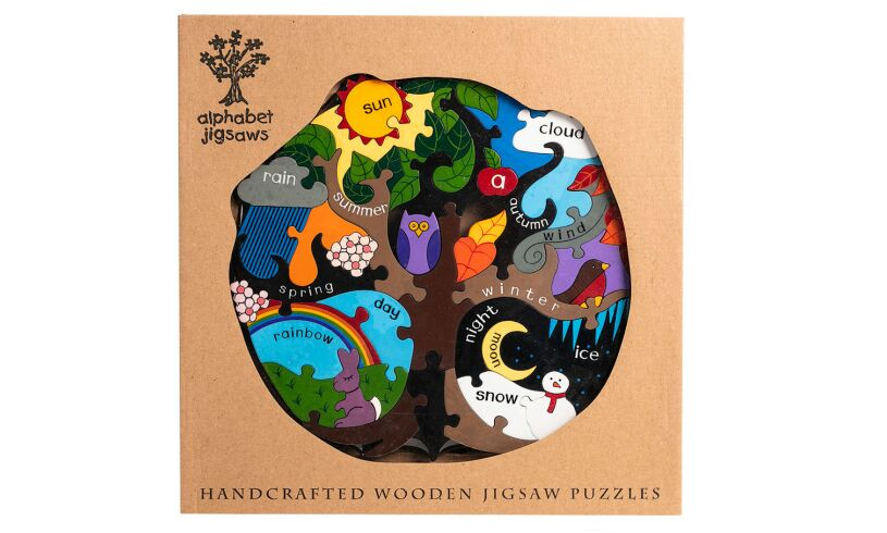 Alphabet Jigsaws Four Seasons Wooden Jigsaw Puzzle