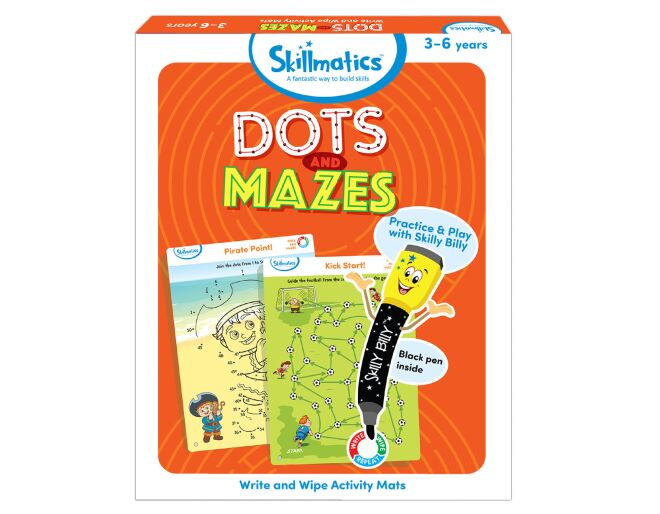 Skillmatics Dots and Mazes