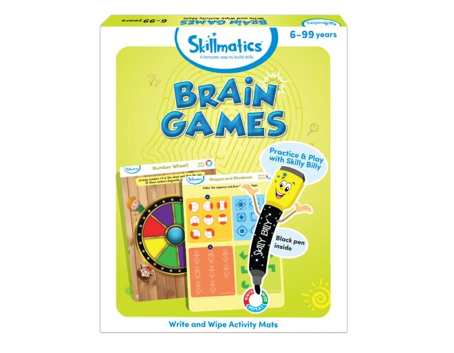 Skillmatics Brain Games