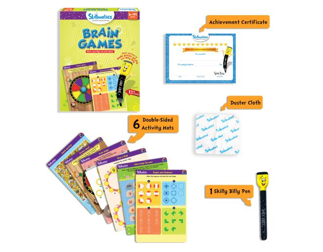 Skillmatics Brain Games Pack
