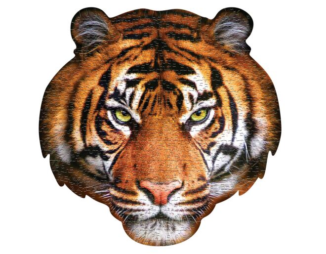 I Am Tiger Shaped Jigsaw Puzzle