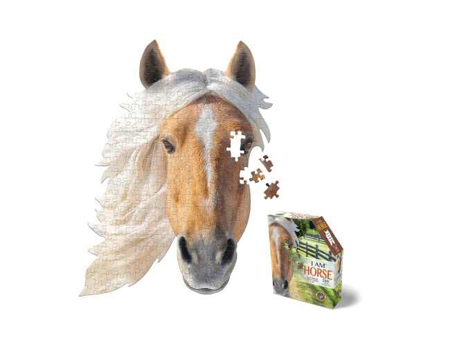Horse Shaped Jigsaw Puzzle
