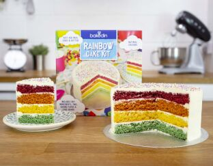 Bakedin Rainbow Cake Baking Kit