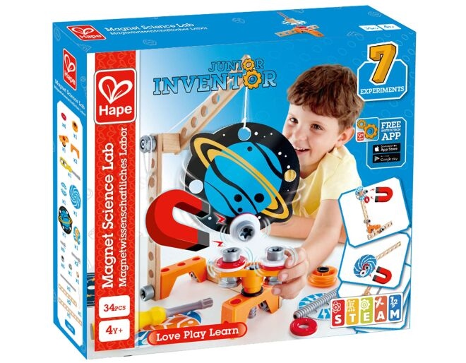 Hape Magnet Science Lab Junior Inventor