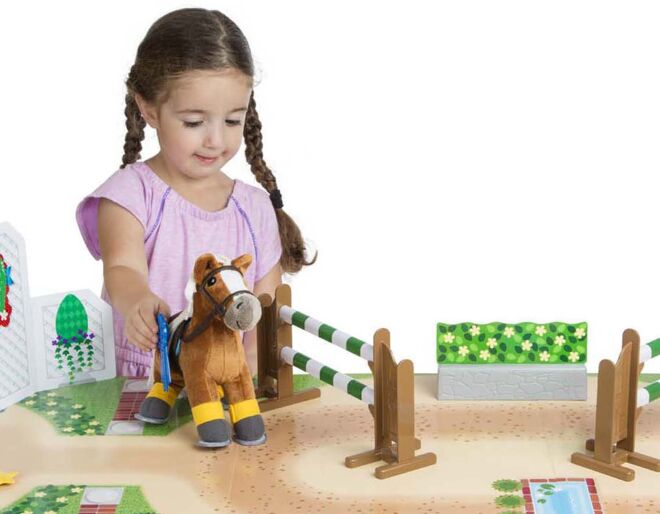 Melissa and Doug Horse Show Play Set