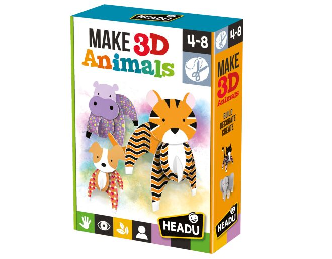 Headu Make 3D Animals