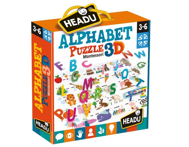 Headu Alphabet Montessori Puzzle