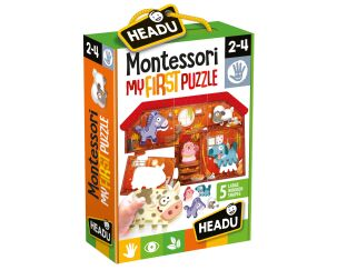 Montessori My First Farm Puzzle