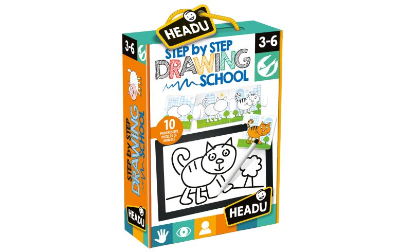 Step By Step Drawing School