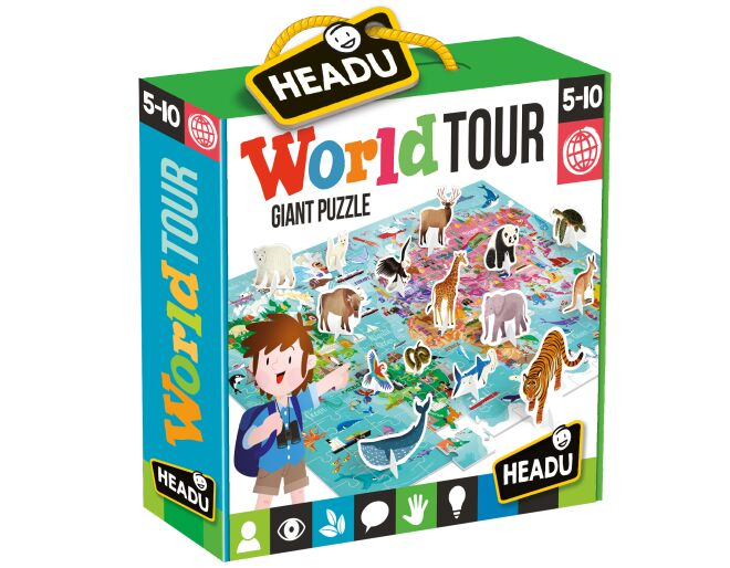 Childrens World Puzzle