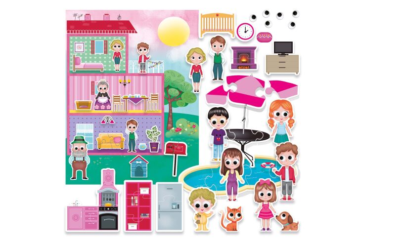 Headu My Imaginary World! Doll's House