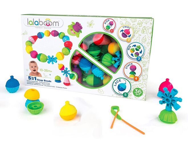 Lalaboom 5 in 1 Snap Beads