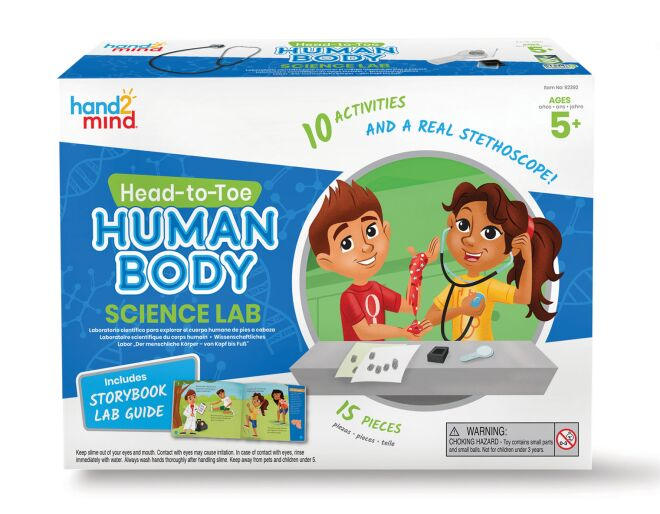 Head to Toe Human Body Science Lab