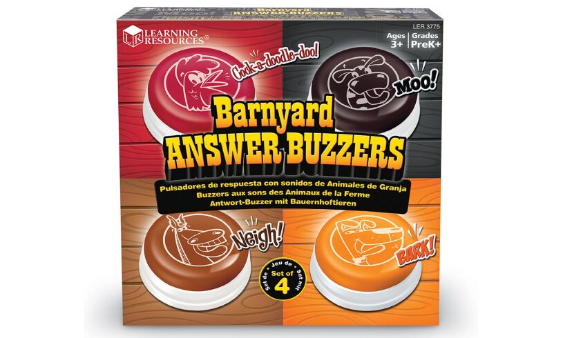 Learning Resources Barnyard Answer Buzzers