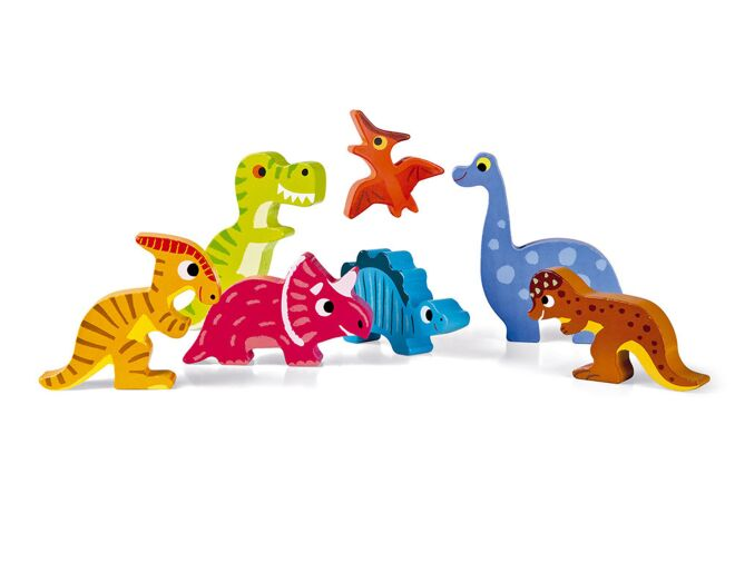 Dinosaur Chunky Wooden Puzzle