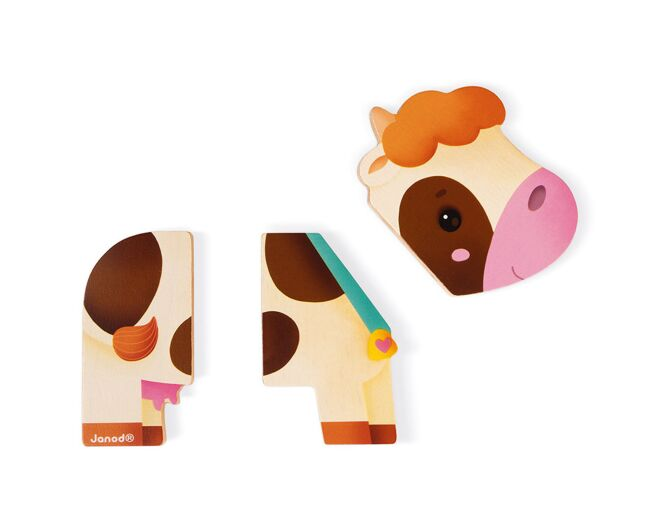 Janod Wooden Farm Magnets