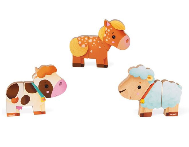 Funny Farm Animal Magnets