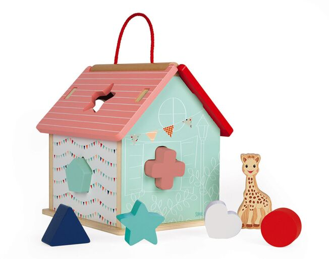 Shape Sorting House Sophie the Giraffe