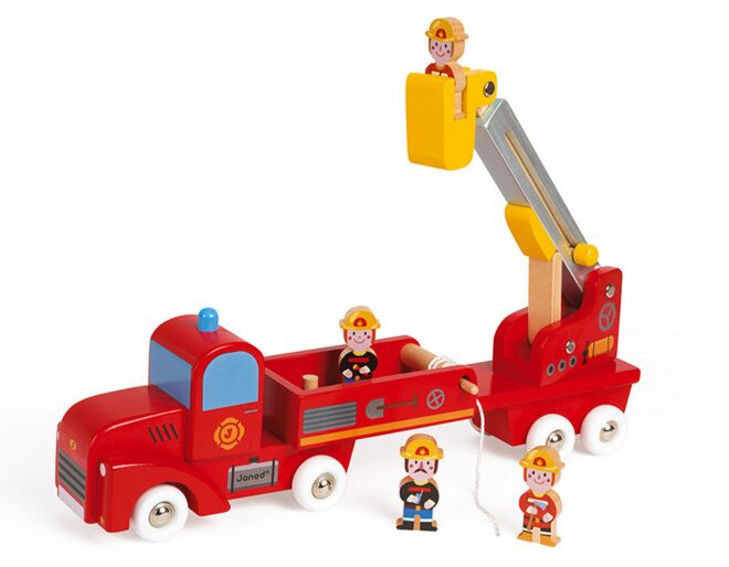 Giant Firefighters Truck
