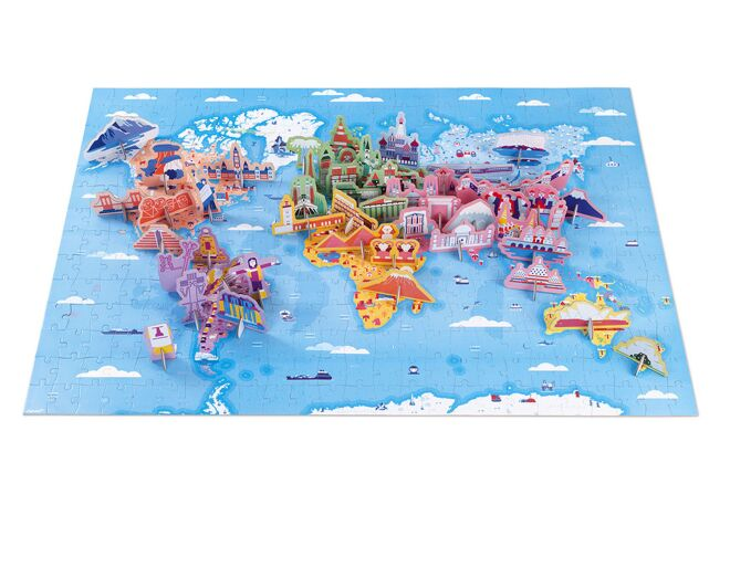 World Curiosities Puzzle