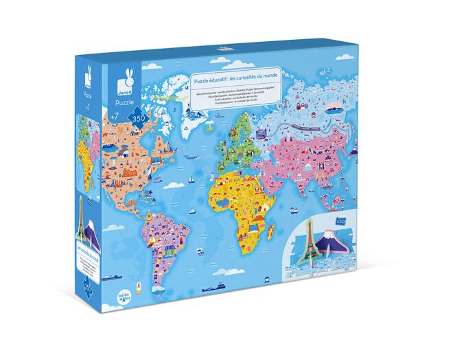 Janod World Curiosities Puzzle
