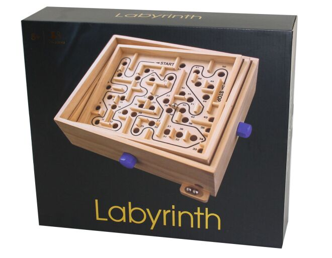 Wooden Labyrinth