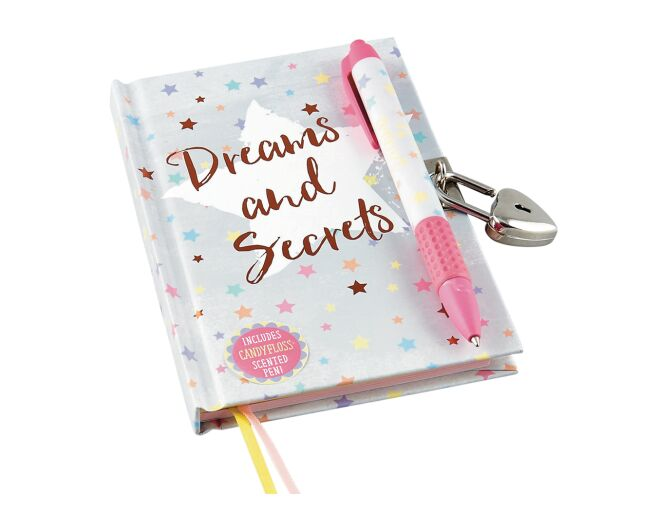 Floss and Rock Dreams and Secrets Lockable Diary