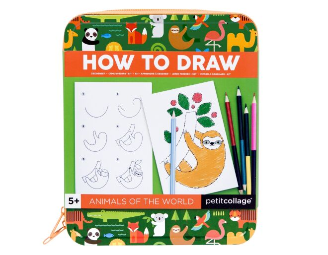 Petit Collage How To Draw Animals