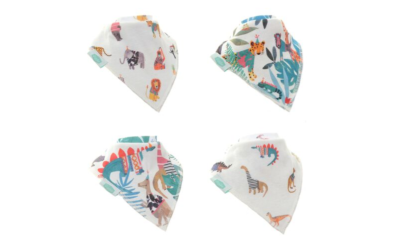 Wild At Heart Bandana Bibs