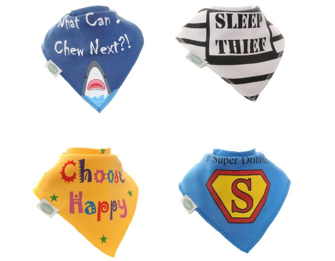 Comedy Captions Bandana Bibs