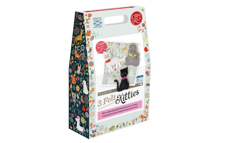Crafty Kit Company Felt Kitties Sewing Kit