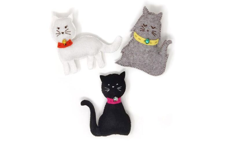 Felt Kitties Sewing Kit