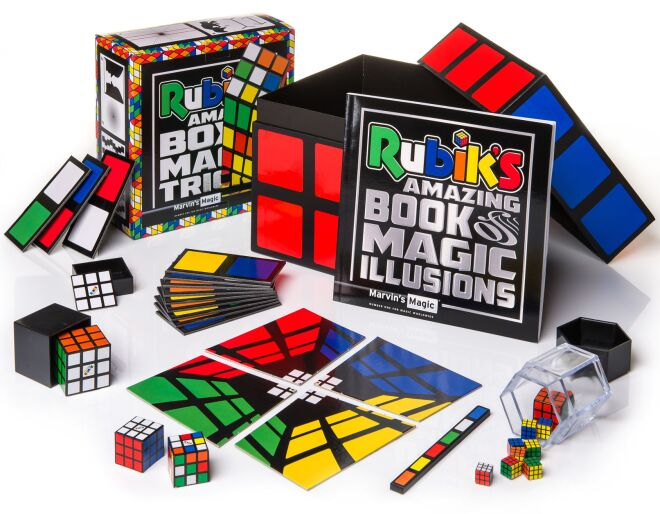 Rubik's Amazing Box of Magic Tricks