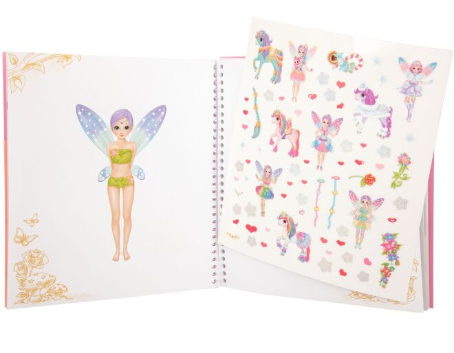 Minimoomis Dress Me Up Sticker Book
