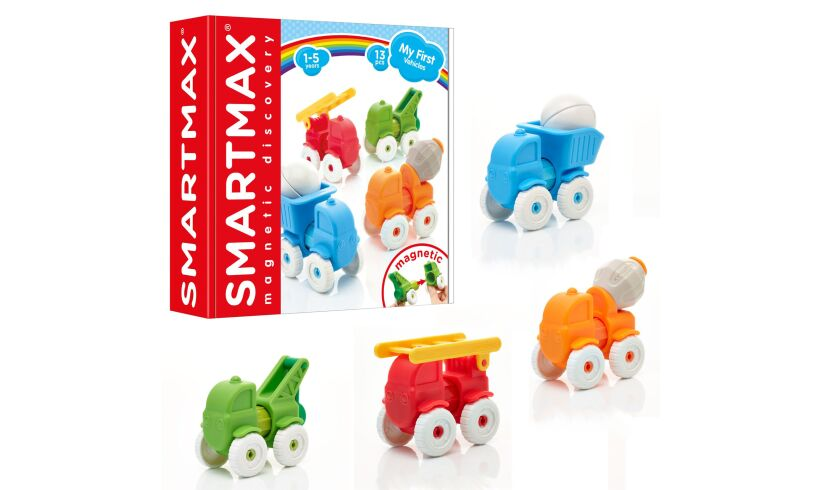 Smartmax My First Vehicles Magnetic Discovery