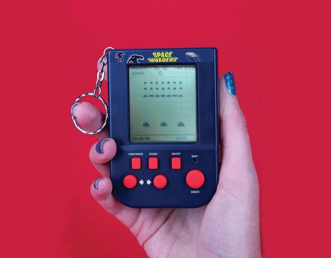 Handheld Space Invaders