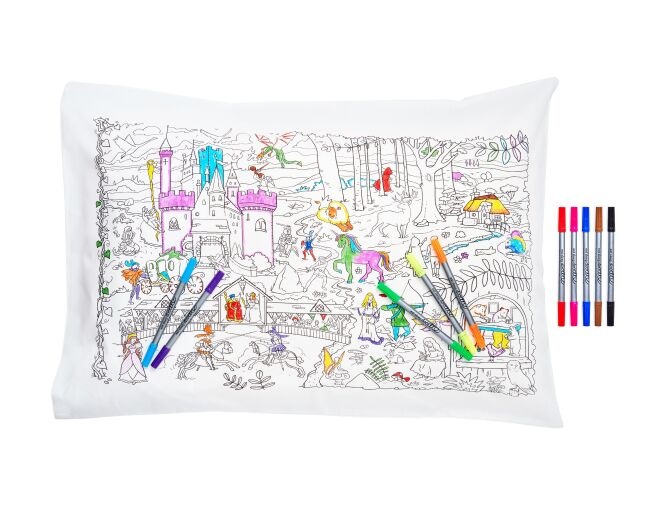 Eat Sleep Doodle Fairytales & Legends Pillowcase