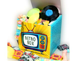 Mr Big Tops Retro Sweet Box