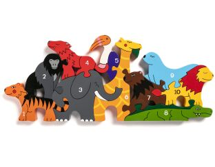 Alphabet Jigsaws Number Zoo